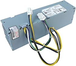 H255ES-00 YH9D7 255W Desktop Power Supply Unit Compatible with Optiplex 3020 7020 9020 Precision T1700 Small Form Factor SFF Systems