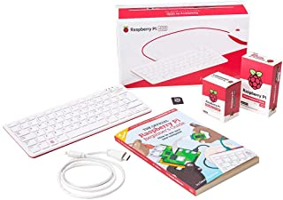 Raspberry Pi 400 4GB Official Start-up Kit, UK Layout