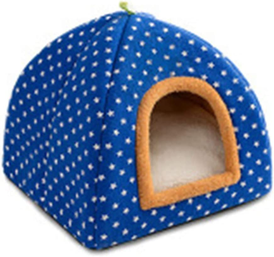 ZJYZJQ Pet House Popular popular Small Dog Free shipping on posting reviews Kennel Warm Folding Cat No