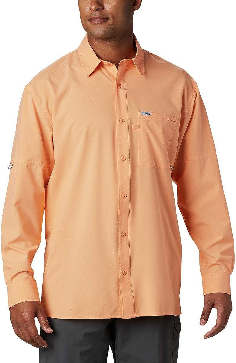 Columbia Men's PFG Zero Woven Rules List price Sleeve Long Max 68% OFF