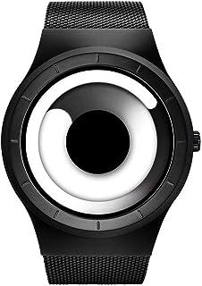 Business Watches Men Fashion Creative Original Design Watch Men Steel Mesh Men's Watch Clock Relogio Masculino Unique Wristwatch