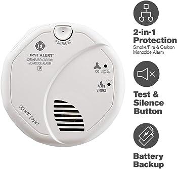 First Alert Photoelectric Carbon Monoxide & Smoke Alarm