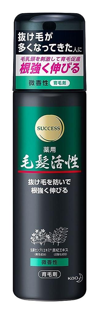 商品直面する単なるサクセス 薬用毛髪活性 微香性 185g ×6個