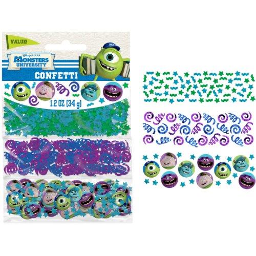 Disney Amscan International Lot de 3 confettis Monsters University