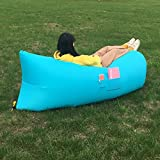 ONETWO Outdoor Pocket Air Sofa,Portable Air Lounger Fast Inflatable Lounger Beach Park