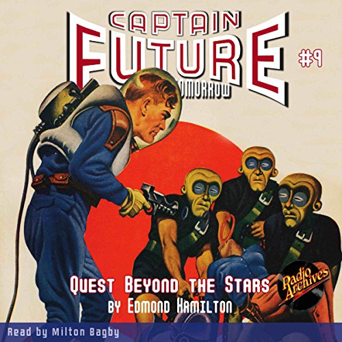Captain Future: Quest Beyond the Stars cover art