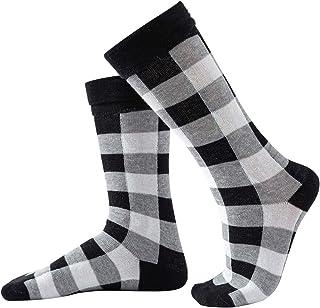 SH-RuiDu - Calcetines a juego para padres e hijos, 1 par de calcetines de algodón peinado suave para mamá papá niños (para...
