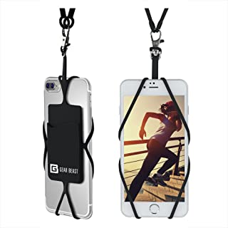 Gear Beast Universal Cell Phone Lanyard Compatible with iPhone, Galaxy & Most..