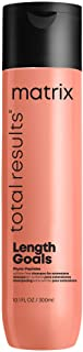 MATRIX Total Results Length Goals Shampoo | Protects Color Vibrancy & Restores Shine | Sulfate-Free | For Hair Extensions ...