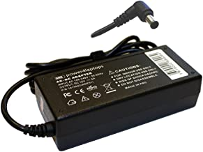 Power4Laptops AC Adapter Laptop Charger Power Supply Compatible with Sony Vaio VGN-X505VP, Sony Vaio VGN-X505ZP, Sony Vaio VGP-AC16V14, Sony Vaio VGP-AC16V7, Sony Vaio VGP-AC16V8