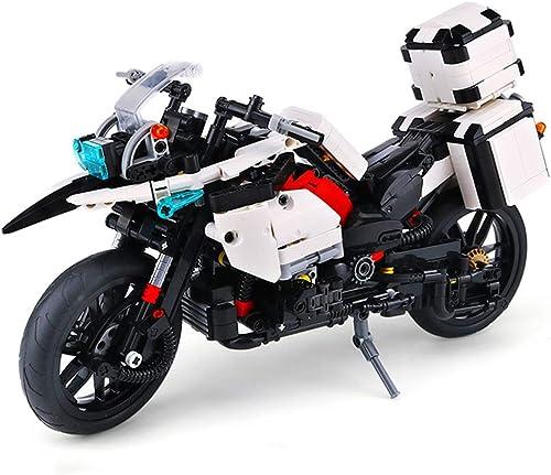 ventas en linea Yyz 1075PCS 1075PCS 1075PCS policía de la Serie de la tecnología de la Patrulla de la Motocicleta ensamble y la inserción de Bloques Puzzle Pequeña partícula Juguete Modelo cumpleaños  Ahorre hasta un 70% de descuento.