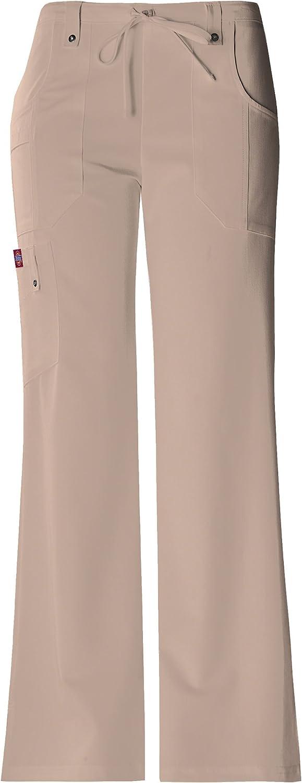 Dickies Xtreme Stretch 85956 Ensemble haut à col montant et pantalon à cordon 82011 pour femme Kaki
