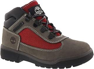 0401bc10bf44 Timberland Kids Boy s Fabric Leather Field Boot (Big ...