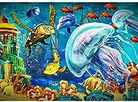 Phinli 大人とティーンのための1000ピースパズル、海底世界1000ピースジグソーパズル、水中カラー世界大人パズル