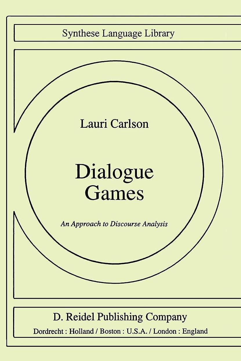 支払い警告する凝縮するDialogue Games: An Approach to Discourse Analysis (Studies in Linguistics and Philosophy)