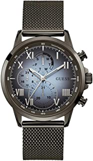 Guess Mens Quartz Watch, Analog Display and Stainless Steel Strap W1310G3