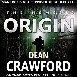 The Nemesis Origin audiobook cover art