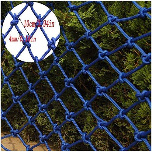 AI LI WEI Protective net Decoratie/Child Safety Rail Net, kinderleuning trapleuning veiligheidsnet balkon beschermingsnet plafond net hek net blauw beschermingsnet kan individueel worden aangepast