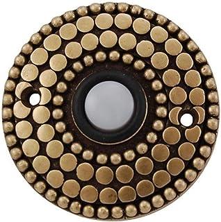 Vicenza Designs D4015 Italian Style Doorbell, Antique Brass