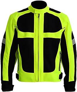 Men's Summer Motorcycle Jacket Racing Protective Gear...