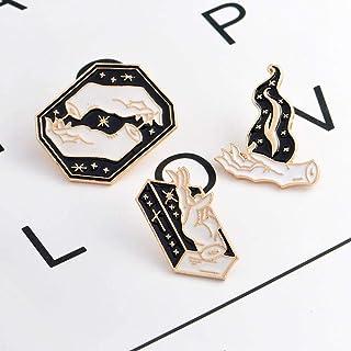 ZUOLUO Broche Bijoux Femme Broche Femme Badge Femmes Broches Mignon Foulards Ch/âle Clip Broooch Alliage Vintage Pins pour Lartisanat Les /Émail Broche