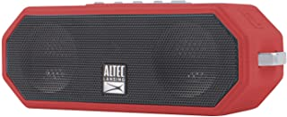 Altec Lansing IMW449 Jacket H2O 4 Rugged Floating Ultra Portable Bluetooth Waterproof Speaker with up to 10 Hours of Battery Life, 100FT Wireless Range and Voice Assistant Integration (TRD)