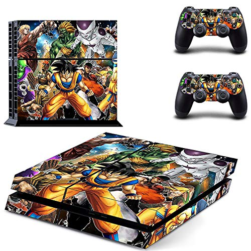 YISHO PS4 Sticker Classic Dragon Ball Skin Full Cover for Play Station 4 Console Skin and Controller Ps4 Accessory (Style13)