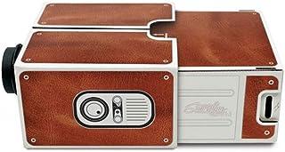 Vokmon DIY مصغرة من الورق المقوى الإصدار 2.0 المحمولة المنزلية الهاتف المحمول بروجكتر للمسرح المنزلي