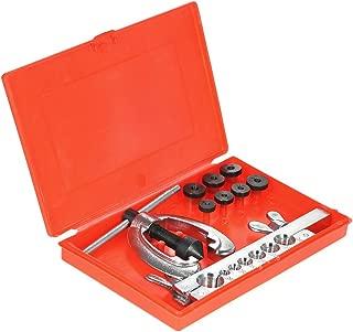 9pcs Double Pipe Flaring Tool Kit Set Tube Bender Pipe Repair Mechanic Aluminium Copper Flares Clamp+Spreader+Double Flare Dies