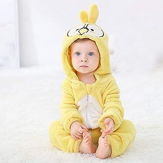 APWY Baby Strampler Winter Kigurumi Cartoon Kostüm Für Mädchen Jungen Kleinkind Tier Jumpsuit Säuglingskleidung Pyjamas Kinder Overalls Ropa Bebes