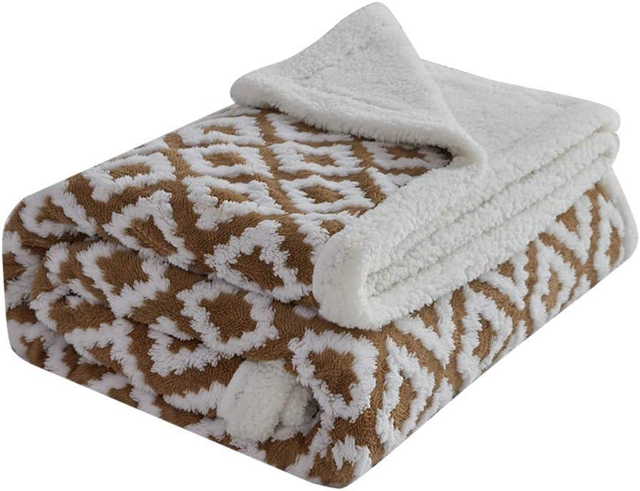 sale FY FIBER HOUSE Max 42% OFF Sherpa Fleece Plush Blanket Throw Soft Super Warm