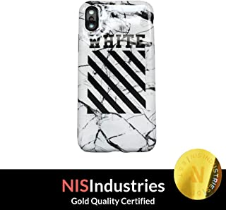 NIS Industries iPhone X /10 - Protective Durable Slim Fit TPU Case/Cover/Bumper/Skin/Cushion - Los Angeles Street Fashion Accessory (White)