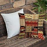 Dekokissen Kissenhülle,Afrikanische, Patchwork-Stil asiatische Muster mit s und kulturellen alten...