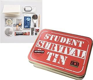 Bushcraft Kit de Supervivencia para el Estudiante, Unisex, de Lata Color Bronce, 12x 8,5x 3,5cm