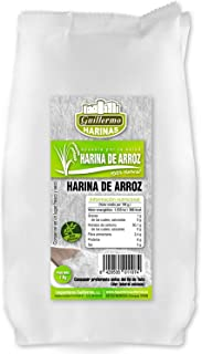 comprar comparacion Guillermo Harina de Arroz 100% Natural 1Kg