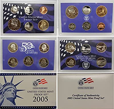 2005 S U.S. Proof Set in Original Government Packaging