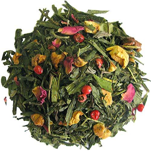 Kersen marsepein thee, groene thee, 100 gram