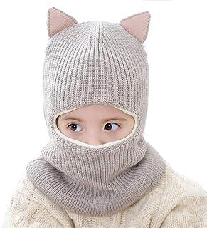 65e364e8 BriStory Girls Winter Warm Hats Balaclavas Hat Scarf Earflap Hood Scarves  Soft Thermal Fleece Windproof Ski