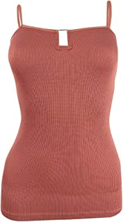 Free People Women's Top Copper Red US Small S Cami Stretch Hardware