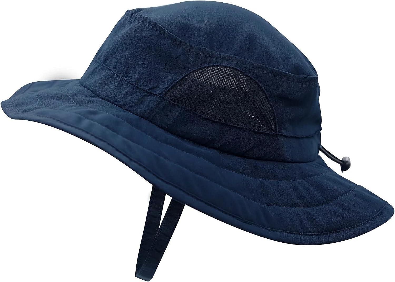 Connectyle Kids Overseas parallel import regular item Wide Brim Mesh Sun Hat UPF Protection 50+ Al sold out. Ha