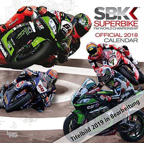 Superbikes 2019 - 18-Monatskalender: Original BrownTrout-Kalender [Mehrsprachig] [Kalender]