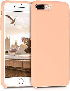 Best iphone 8 plus / 7 plus silicone case - peach Reviews