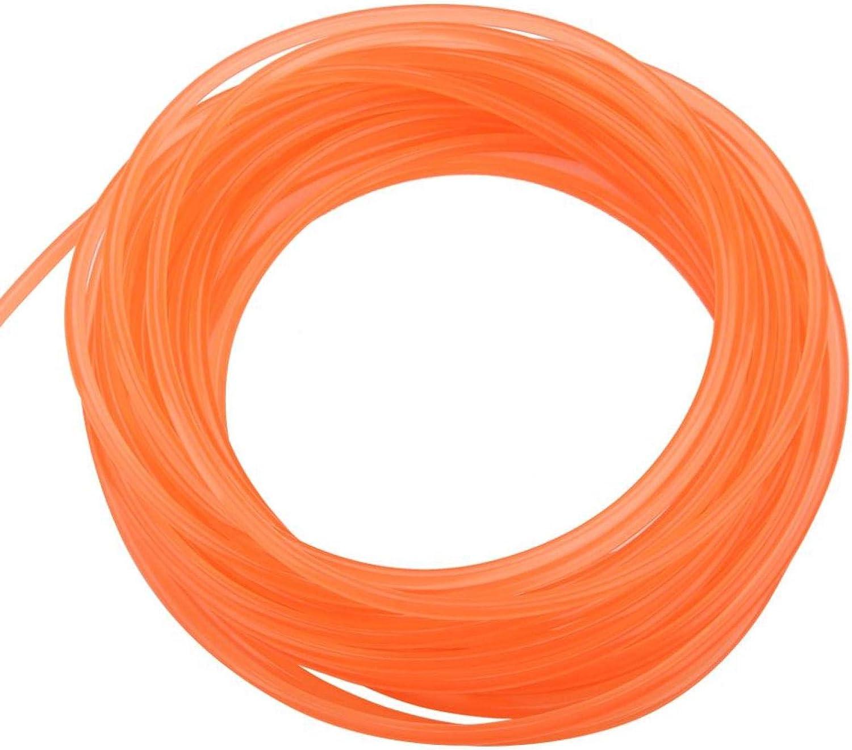 Stretchabe Orange Polyurethane Circular Conveyor Belt for Drive Transmission 6mm10m