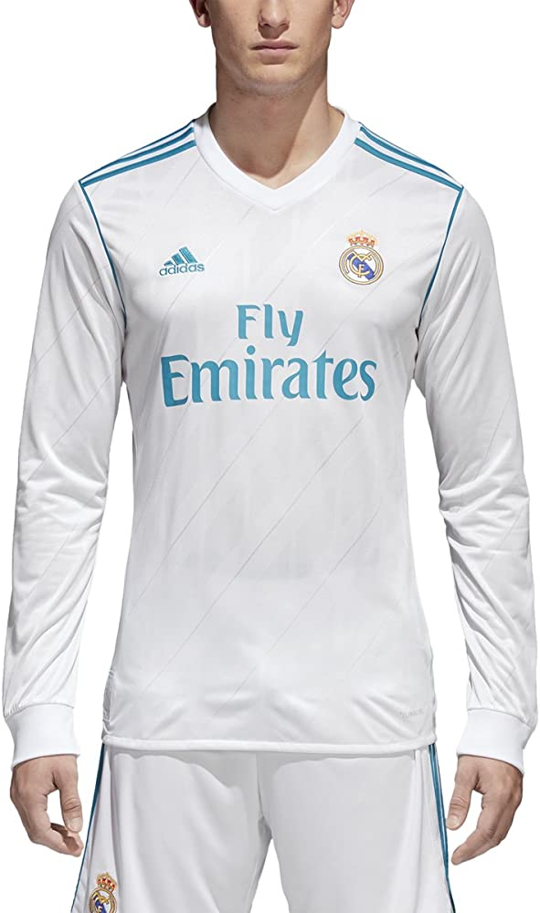 adidas Real Madrid CF Home Long Sleeve Jersey [White]