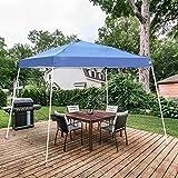 DOIT 10 X 10 FT Pop-Up Canopy Tent Patio Gazebo Tent Slant Leg Instant Shelter with Carrying Bag