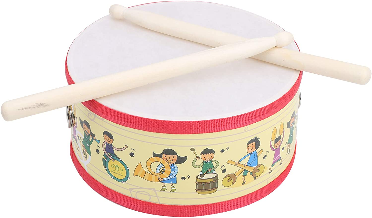 Sturdy Double‑Sided Drum Musical for Limited time Long Beach Mall sale P Instrument Party