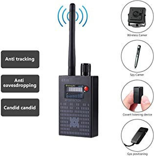 Anti-spy Bug GPS Camera RF Signal Detector Set [Upgrade Enhanced], GPS Tracker Wireless Camera Amplification Ultra-high Sensitivity GSM Device Finder