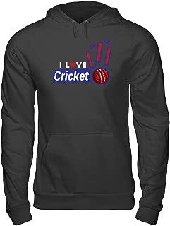 I Love Cricket-Training Sport Players Men Women Hoodie