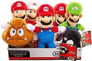 Nintendo 62845-4L Mario Bros U Plush Toy Red