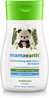 Mamaearth Moisturizing Daily Lotion For Babies, 100 ml